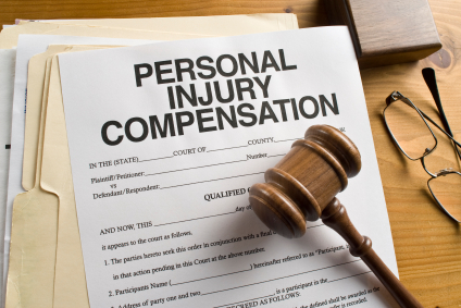 claim compensation for injuries